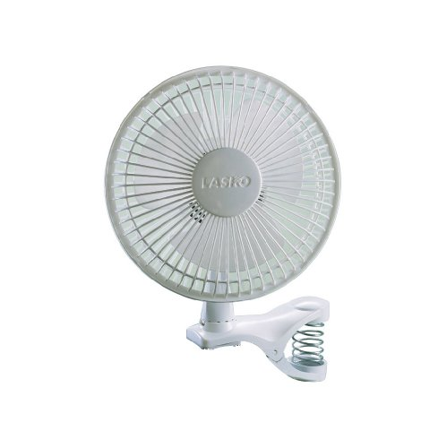 Lasko 2004W 2-Speed Clip Fan, 6-Inch, White (Clip Fan Battery compare prices)