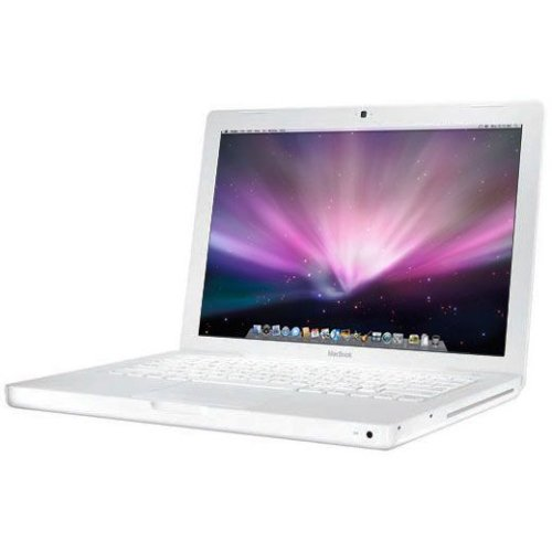 Apple MacBook 13-inch Laptop (Intel Core 2 Duo 2.1 GHz, 1 GB RAM, 120 GB HDD, Intel HD, OS X) - White - 2008 - MB402B/A - UK Keyboard