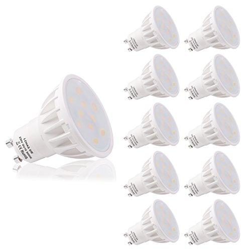 Outlet de Kit de 10 bomillas LED de 6 vatios de LOHAS 3000K