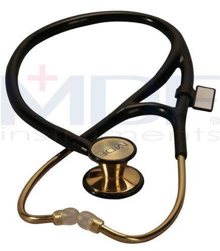 Cheap MDF Instruments – ER Premier Stethoscope 22K Gold – – Noir (MDF797DDKNOI)