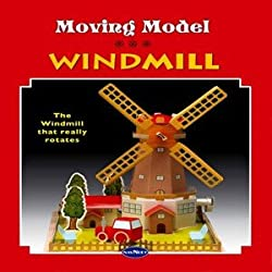 Moving model construction book - Windmill