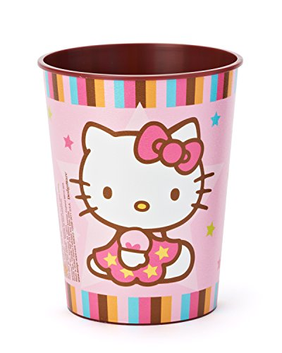 American Greetings Hello Kitty 16-Ounce Plastic Party Cup, Balloon Dreams, Party Supplies - 1