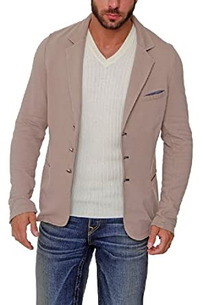liu jeans by liu jo herren sakko felpa kaba farbe beige bekleidung. Black Bedroom Furniture Sets. Home Design Ideas
