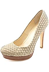Calvin Klein Kendall Animal Print Leather Pumps Heels Shoes