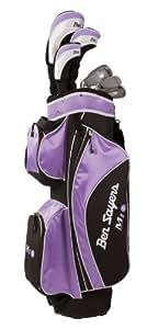 Ben Sayers M1i Kit golf Femme Fibre de carbone Tige régulière Droitier Noir/lilas