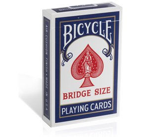 Bicycle Bridge Size, Standard Index Playing Cards - 2 Decks