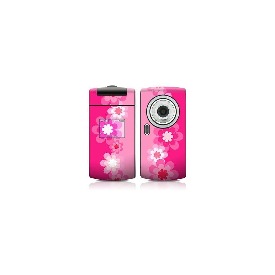 Retro Pink Flowers Design Protective Skin Decal Sticker for Samsung FlipShot SCH U900 Cell Phone