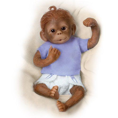 Poseable Monkey Baby Doll: Jo Jo By Ashton Drake