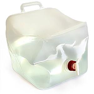 Bidón de agua Bidón plegable Con grifo 20 litros