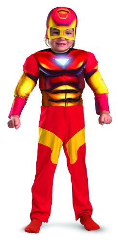 Iron Man Toddler Muscle