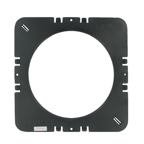 Leviton Pcc55-Kit Pre-Construction Kit For 6.5-Inch In-Ceiling Speakers, Black