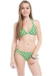 G2 Chic Women's Two Piece Matching Top and Bottom Bikini Swimwear