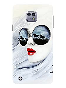TREECASE Designer Printed Soft Silicone Back Case Cover For LG X Cam