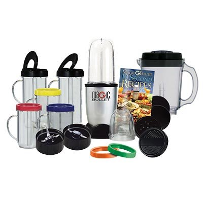 41gyCZhUUjL Juicer: Magic Bullet 25 piece Deluxe Set   New Bullet Extras