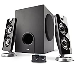 Cyber Acoustics 30 Watt Powered Speakers with Subwoofer for PC and Gaming Systems in Frustration Free Packaging (CA-3602FFP)