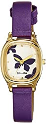 Sonata Analog White Dial Womens Watch - NF8060YL01