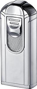 Visol Alec Polished Chrome Single Jet Flame Cigar Lighter