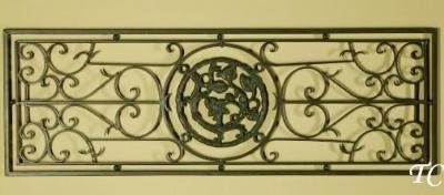 Wrought iron mirror discount tuscan scroll wrought iron for Iron accents promo code