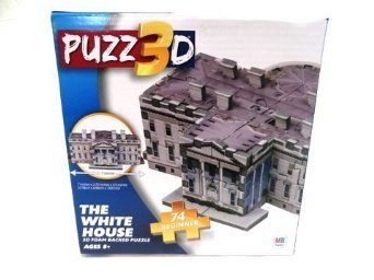 Puzz 3D The White House 74 Piece Puzzle - 1