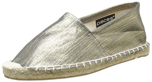PiecesHaisha - Espadrillas Donna , Oro (Or (Gold Colour)), 38