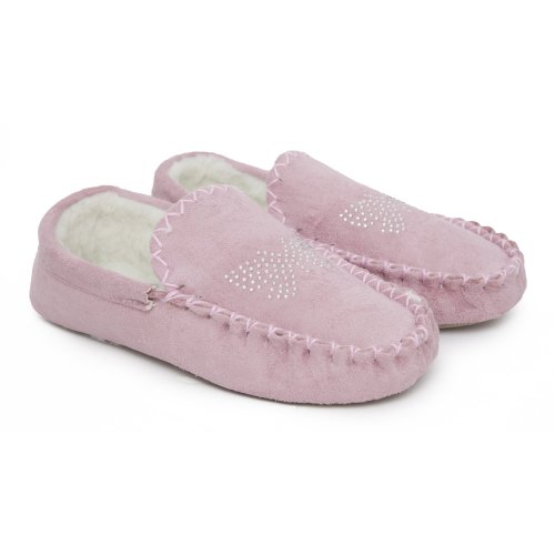Cheap Womens/Ladies Butterfly Diamante Design Indoor Footwear/Slippers (B007FL63DU)