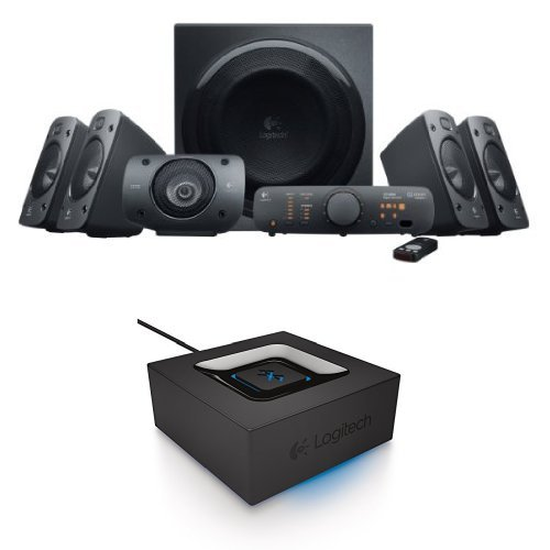Click to buy Logitech Z906 Surround Sound Speaker System with Bluetooth Audio Adapter - From only $309.37