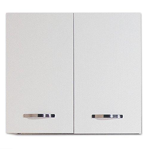 Pensile per cucina colore bianco Cm 80x30xH 72 con 2 ante