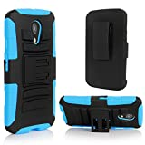 Moto G Case, Motorola G (2nd Generation) Case, E LV Motorola Moto G (2nd Generation) Holster Case Cover - Dual...