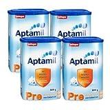 Amazon.co.jp[4箱セット] Aptamil(アプタミル) プレ(Pre) 800 g (0ヶ月〜6ヶ月)(並行輸入品)/配送後4~6日でお届け