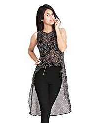 Lady Being Women's Crop Top(CT-SS16-04S_Black_Small)