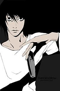 "Death Note Light Kira L Anime 21"" poster 107 C"