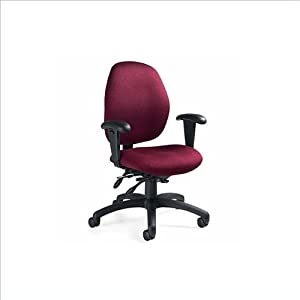 Global Total Office Malaga High Back Pneumatic Multi Tilter Chair