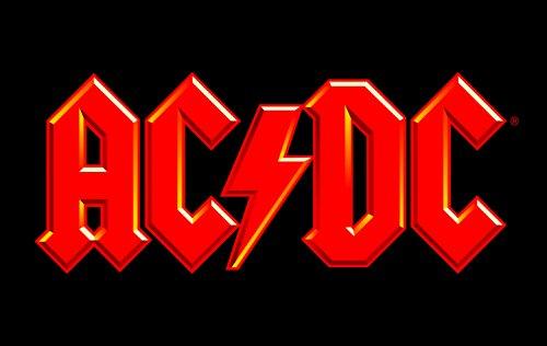 AC/DC bfbac1petit-déjeuner, plastique, noir