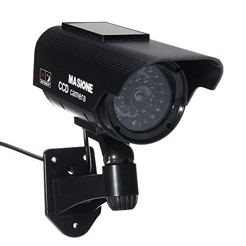 Pannello Solare Per Telecamera : Masione telecamera finta con pannello solare falsa dummy