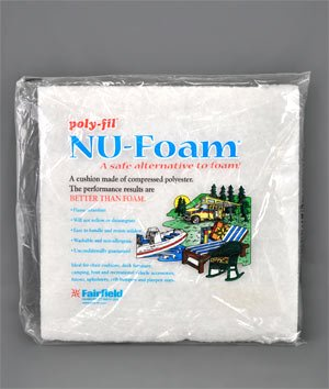 Fairfield Poly Fil Nu Foam 15x17x1 Pre Cut