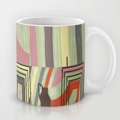 Society6 - Pipes Coffee Mug By Fine2Art
