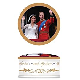 Royal Wedding Commemorative Trinket Box
