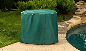 Budge P5A23GP1 60in. Diameter Round Table Cover with 20in. Drop GP