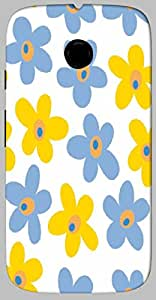 Timpax protective Armor Hard Bumper Back Case Cover. Multicolor printed on 3 Dimensional case with latest & finest graphic design art. Compatible with only Motorola Moto - E-2- 2nd Gen. Design No :TDZ-21510