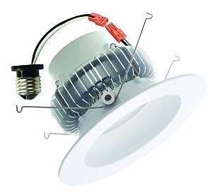 "VOID LED Lighting ER6-6000K 15W Dimmable Retrofit LED Recessed Lighting Fixture, 6"", Daylight"