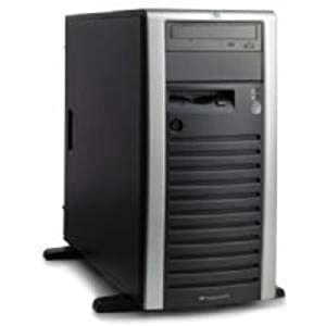 399151001 - ProLiant ML150G3 Tower,DC Xeon processor 5050(3.0GHz,667FSB,130W),Integrated 2x2MB L2 cache,512 MB PC2-5300,Embedded HP NC7781 Gigabit Server Adapter 10/100/1000 WOL,HP Embedded SATA RAID Controller,48x CD-ROM,4.5TB (6 x 750GB) SATA,LFF,nonhotplug