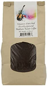 Delta Blues Foods Corporation Vitamin-Enriched Freshly Ground Coffee, Medium Roast, 16 Ounce