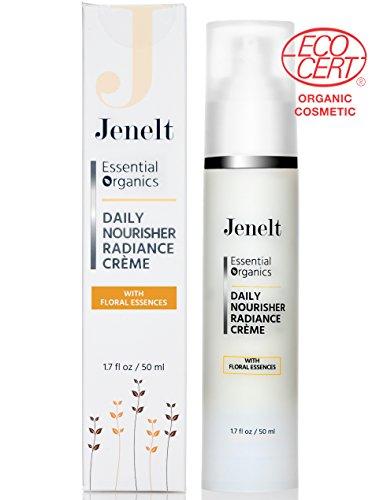 Organic Revitalizing Eye/Face Cream w/ Floral Essences