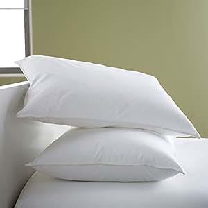 "Cloth Fusion Premium Hotel Linen White Bed Pillow (16""x24"") Set of 2 Pcs"