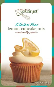 Gluten Free Lemon Cupcake Mix