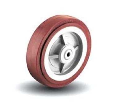 """Colson Hi-Tech Moldon Polyurethane Wheel 8"""" x 1-1/2"""" 800# Cap. Per Wheel 4-8-929"""