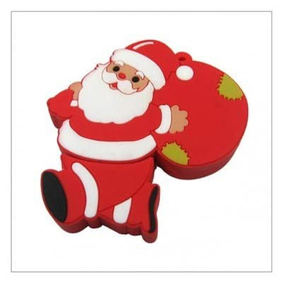 16GB SMILEDRIVE SANTA CLAUS SHAPED USB PENDRIVE