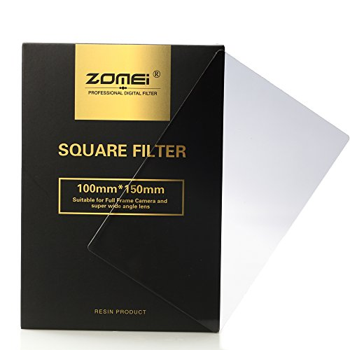 Zomei Square Gradual Grey Colour Lens Filter 100*150mm Filter-nd2