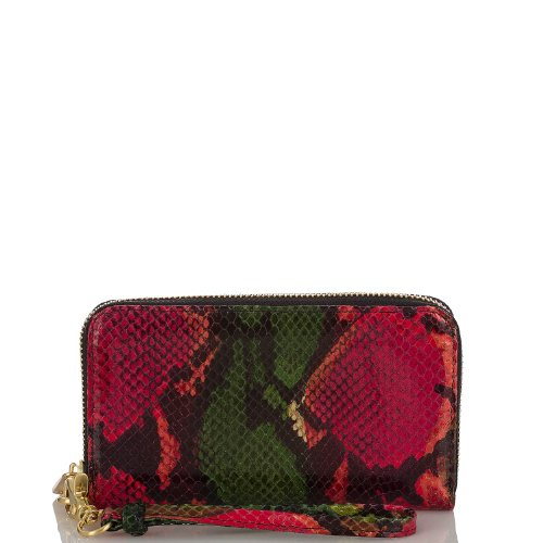 Riley Wallet<br>Multi Anaconda Rouge