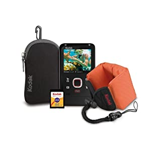 Kodak PlayFull Waterproof Video Camera Bundle